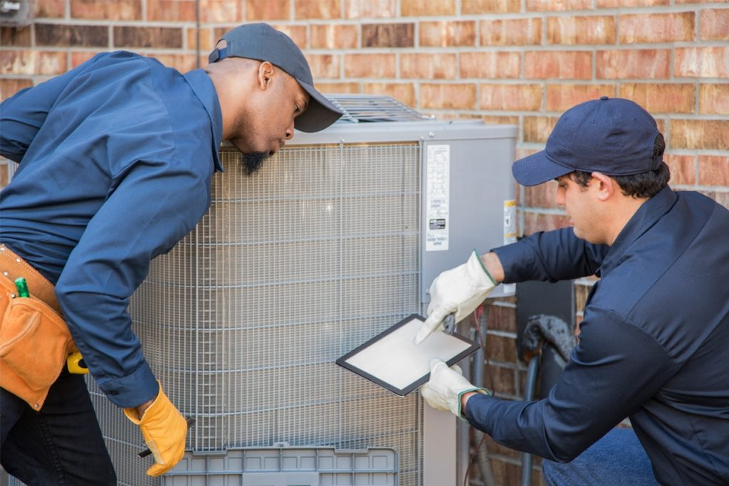 Technicians report HVAC system problems